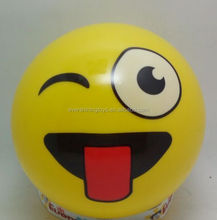 High Quality Emoji Smash Ball/ Toy ball/pvc inflatable balls