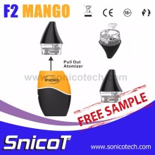 New Promotion F2 Mango Bottom Filling Japan Electronic Cigarette Epipe E Cig Mod Factory
