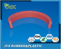 Extrusion rectangle solid rubber foam seal