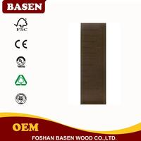 Multifunctional popular composite fire rated wooden double door with high quality