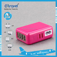 3.1 Amp Wall Travel Charger with 4 USB Ports for Samsung Galaxy S5
