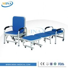 MINA-P1 Luxury hospital recling accompany chairs convertible hospital chair bed attendant chair price