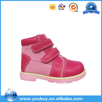 New model link wholesale girls shoes, original leather shoes for children