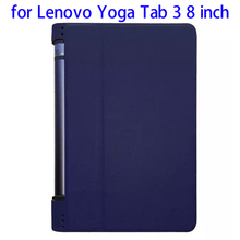 In stock!!! Karst Texture Leather protective case for Lenovo Yoga Tab 3 8 inch cover