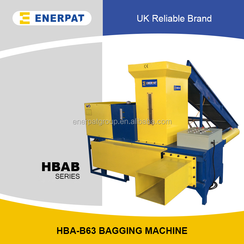Wood Shaving Sawdust Baling And Bagging Machine