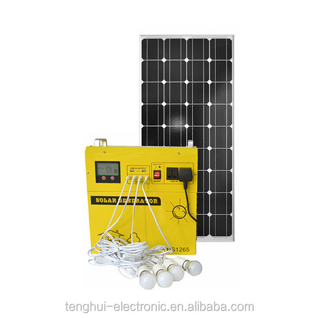 CE and UL certificate 500w Portable solar power system with good looking