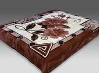 2015 New Product kashmir blanket 100%polyester
