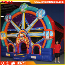 commerical inflatable Ferris Wheel bouncer Combo/ jumping castle combo for kids