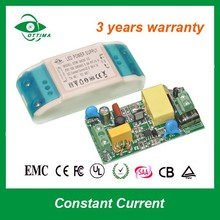 SAA plastic case constant current dimmable led driver circuit 15w 450mA