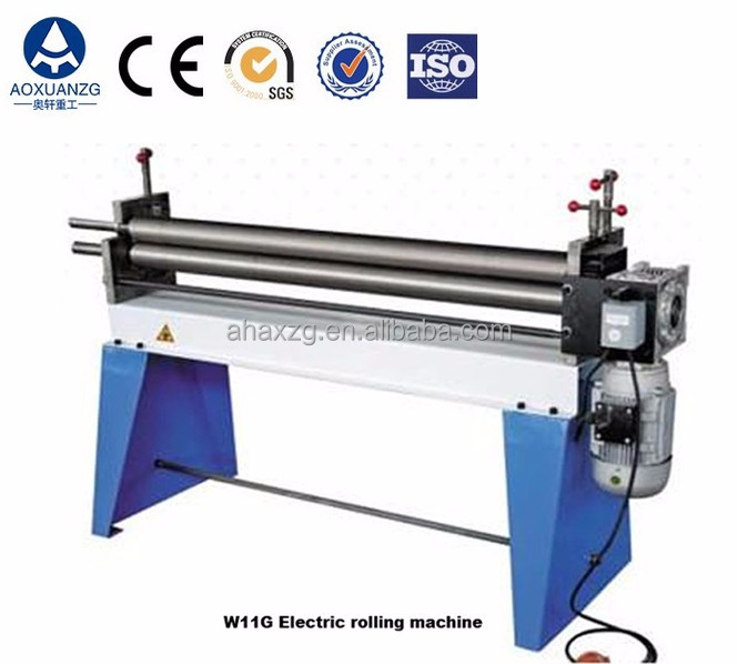 high quality 3 slip Roller Bending Machine,electric power 3 Roller Rolling Machine