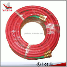 China Manufacturer Hydraulic Hose Fitting High Pressure Flexible Heat Resistant Rubber Gas Hose Pipe