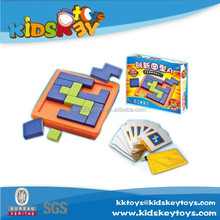 Original trivia /logic/ visual and word puzzles wholesale educational toy