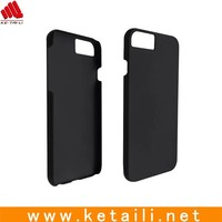 Hard plastic matte case for iphone 7, rubber oil coating all over the case