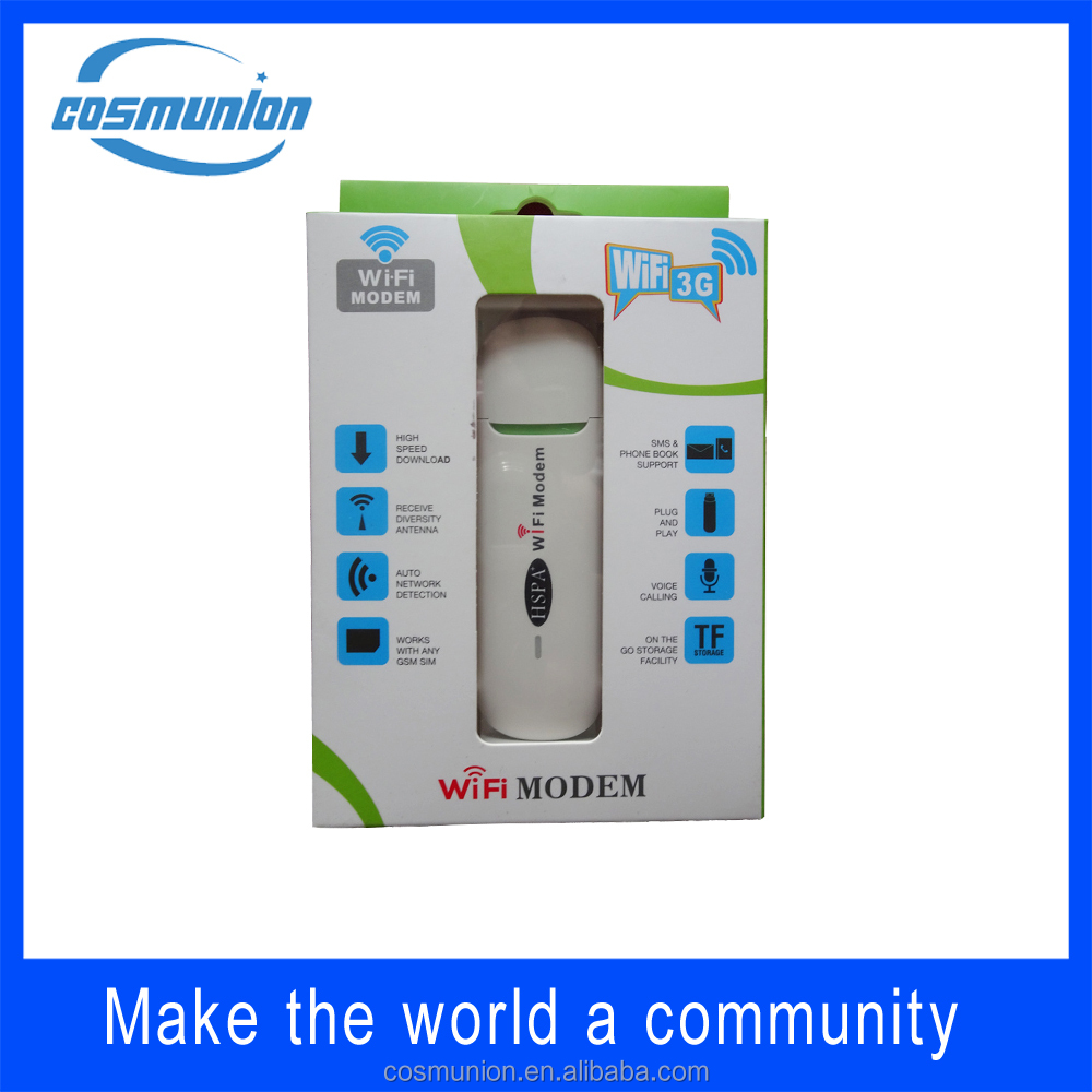 high speed usb modem wireless 3g 4g dongle with sim card