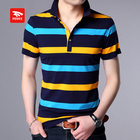 Custom bulk colorful polo shirt design with combination for men