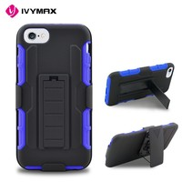 Heavy duty robot combo case for iphone 7 shockproof back covers