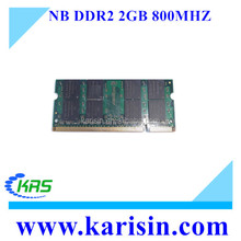 wholesale laptop ram 2gb 667 800 mhz memory 2gb for notebook