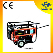 HUAHE(CHINA) strong power gas engine natural gas generator 5kw,small natural gas generator for home use