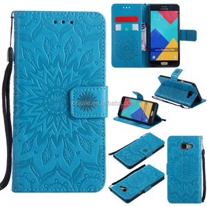 Luxury Flower Wallet Card Holder Stand Flip PU Leather Mobile Phone Shell Case For Wiko Mobile