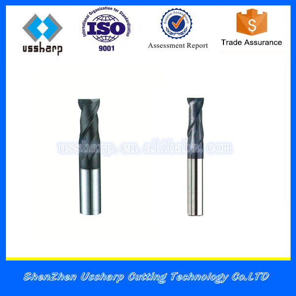 CNC Cutting Tools Square End Mills, Carbide Cutting Tools End Mill Cutter