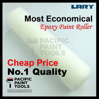 LARY 9'' Lint Free White Woven Fabric Paint Roller Refill
