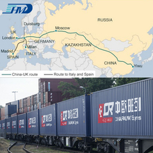 Railway Transport Railway Freight Container from China to Kazakhstan