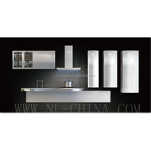 Quality assured stainless steel kitchen cabinets india aluminium kitchen cabinet design
