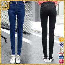 China Alibaba Amazing Quality Black High Rise Women Dirty Wash Girls Pictures Sexy Skinny Jeans
