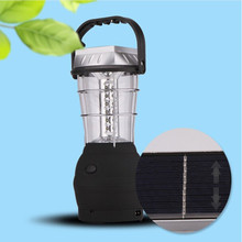Easy using low consumption solar lantern with mobile phone charger