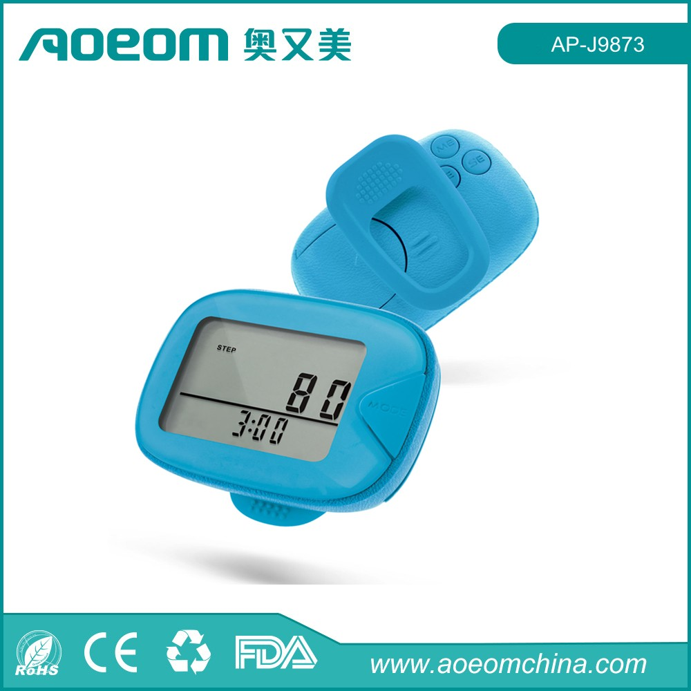 AOEOM 2D Multifunctional Step Counter Pedometer as Christmas Promotion Gifts