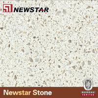 NQ2024R--Newstar pacific Ocean Foam man made quartz slab /countertop
