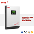 5KW Hybrid Solar Inverter On/Off grid Solar System Solar Grid Tie Inverter with battery backup