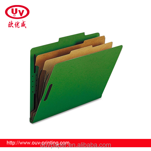 Stationery paper filing customized handmade designing files