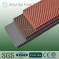 outdoor wood plastic composite solid decking