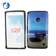 Wholesale custom phone case for nokia lumia 520 photo phone cover