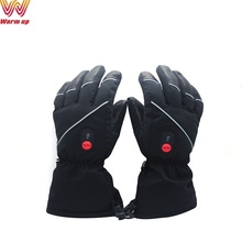 Biking skiing motorcycle rechargeable battery heated gloves