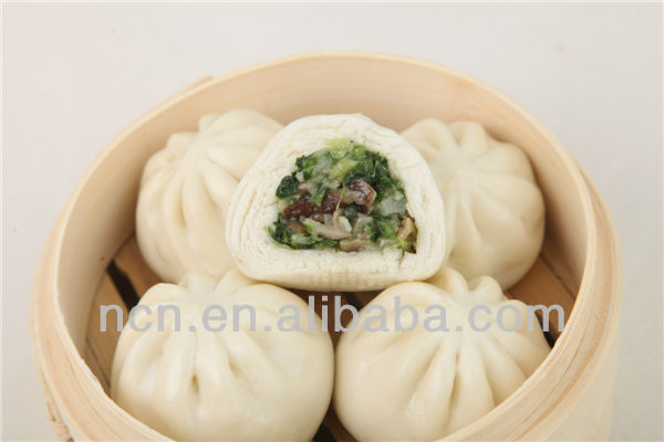 Vegetarian Stuffing Bun Chilled Frozen Food Manufacturer