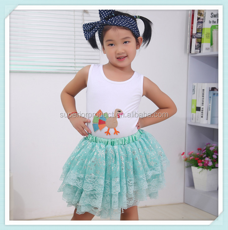 New Arrival Kids Short Dress Lace skirt T-shirt And Skirt 2 Pcs Suit Baby Girl Summer Dress Sexy School Girl Dress Wholesale