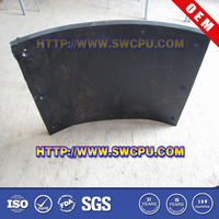 Custom flexible pu truck rubber mud flaps