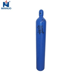 TPED CE ISO certified oxygen cylinder refillable 40L best safety for medical use
