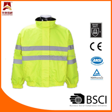 Reversible safety jacket