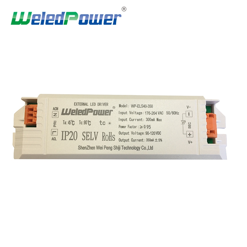 30W 40W 350Ma Constant Current Led Driver flicker free For Russia Market CE