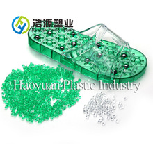 no color change jelly slippers pvc plastic raw materials