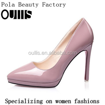 Mega March Sourcing PU pumps newest designs italy designs 2017 PMS4189