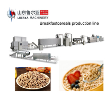 Quality corn puff extruder machine with ice cream