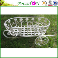 Sale Novelty Antique Wrought Iron Wheelbarrow