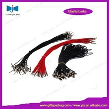 bungee metal barb elastic cords with both ends for machine