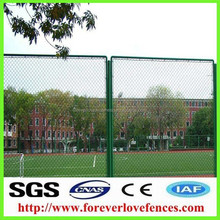 out door decorative metal chain link fence/garden fences