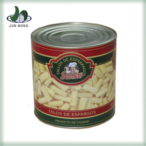 Hot sell natural sliced canned mason jar ISO certification chinese frozen dried asparagus