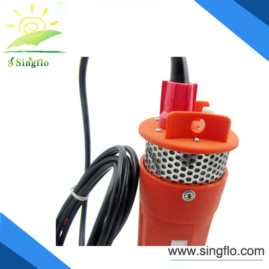 24V/12 V solar submersible water pump/water well pumps for Livestock, agridulture